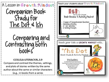 Dot and Ish Companion Study- Compare and Contrast