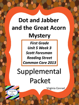 Dot and Jabber and The Great Acorn Mystery-Supplemental--R