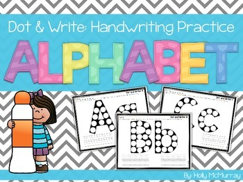 Dot and Write Handwriting Practice