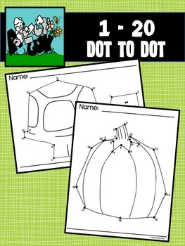 Dot to Dot / Connect the Dots 1 - 20