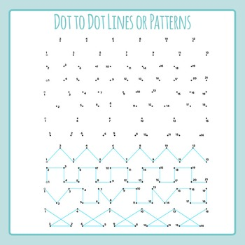 Dot to Dot Lines - Left to Right Progression / Pen Control