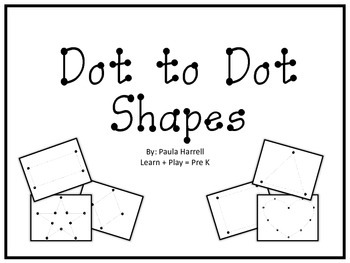 Dot to Dot Shapes