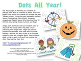 Dots All Year--Theme Based Reinforcers