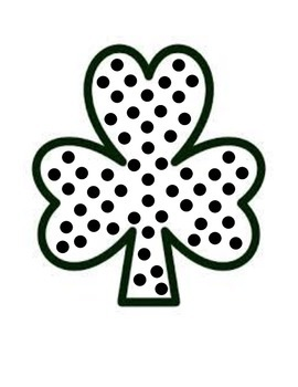 Dots Of Glue - March & St. Patrick's Day