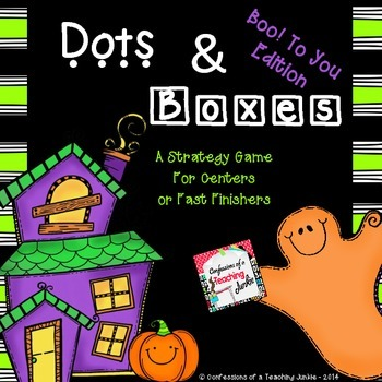 Dots and Boxes – Halloween Edition
