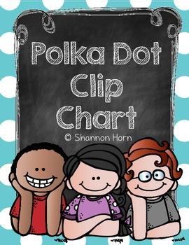 Dots and Melonheadz Behavior Clip Chart