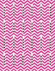 Dots on a 5 Frame (0-5) in Magenta Chevron