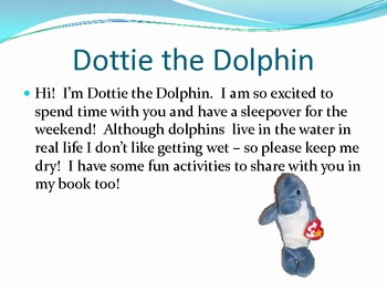 Dottie the Dolphin Class pet