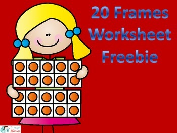 Double 10 Frame Cut and Glue Worksheet Freebie