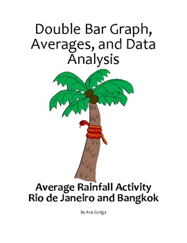 Double Bar Graph, Averages, and Data Analysis: Average Rai