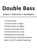 Double Bass Scales & Exercises