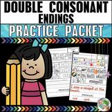 Double Consonant Endings Practice Packet