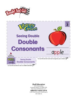 Double Consonants--Seeing Double Literacy Center (eLesson)