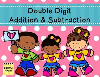 Double Digit Addition & Subtraction