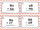 Double Digit Addition and Subtraction (with regrouping) Ta