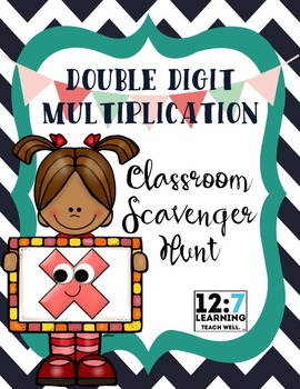 Double Digit Multiplication Scavenger Hunt