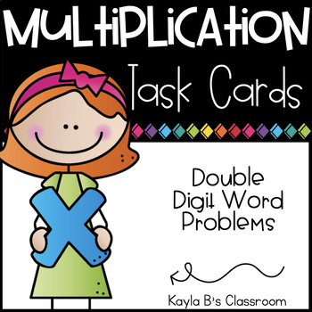 Multiplication Word Problems: Using Double Digit Numbers