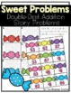 Double Digit Story Problems - Addition with Regrouping