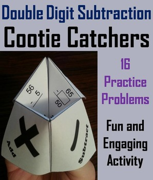 2 Digit Subtraction Practice Activity/ Two Digit Subtracti