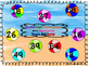 Double Digit Subtraction with Regrouping Beach Ball BUMP Game