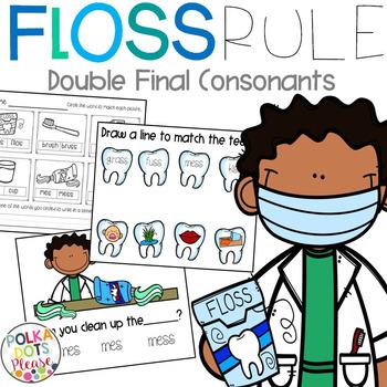 Double Final Consonants FLOSS Rule Projectable Mini-Lesson