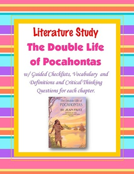 Double Life of Pocahontas Literature Study