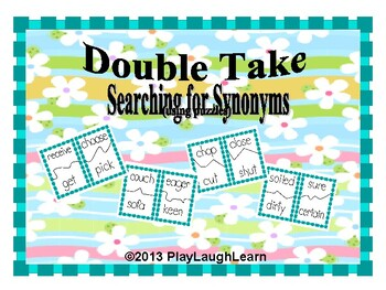 Double Take-Searching for Synonyms