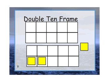 Double Ten Frame Interactive for Activboard