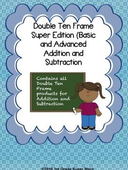 Double Ten Frame - Super Pack
