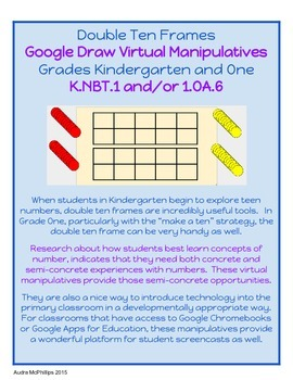 Double Ten Frames - Virtual Manipulative for Google Chrome