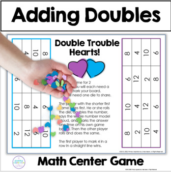 Addition Doubles ~ Double Trouble Hearts