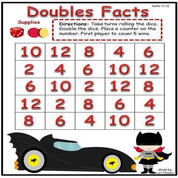 Double Trouble Math Games