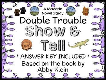 Double Trouble: Show & Tell (Abby Klein) Novel Study / Rea