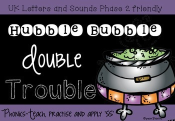 Double Trouble 'ss' Halloween Phonics {year2tastic}