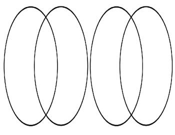 Double Venn Diagram Graphic Organizer