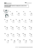 Double and Triple Multiplication Problem Bundle | 100 prob