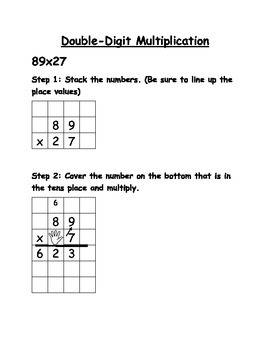 Double-digit by double-digit Multiplication