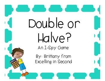 Double or Halve I-Spy