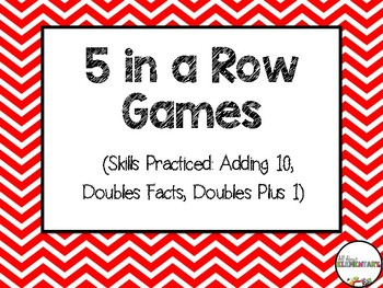 Doubles +1, Doubles Facts, and Adding 10
