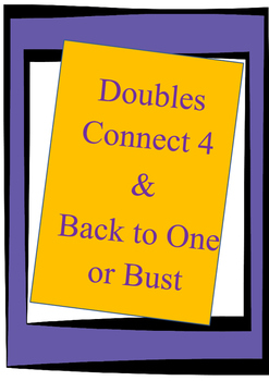 Doubles Connect 4 & Back to One or Bust