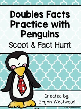 Doubles Facts Practice-Scoot & Fact Hunt