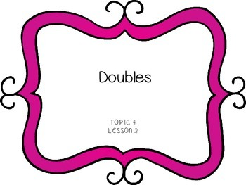 Doubles - First Grade enVision Math