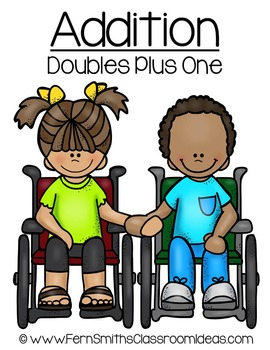 Addition Doubles Plus One Concept Quick and Easy to Prep M