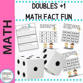 Math Computation: Doubles Plus One Fact Fun