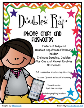 Doubles Rap iPhone Craft and Flashcards - Doubles/Doubles