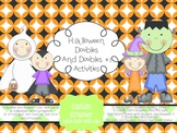 Doubles and Doubles Plus One {+1} Halloween Games