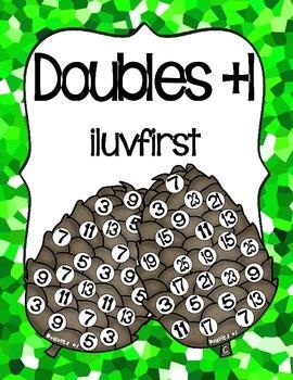 Doubles+1 Pinecones