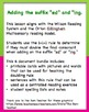 Doubling Rule 1+1+1 Suffixes ed and ing Activities