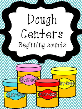 Dough Center-Beginning Sounds