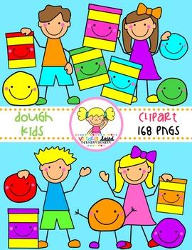Dough Kids Clipart